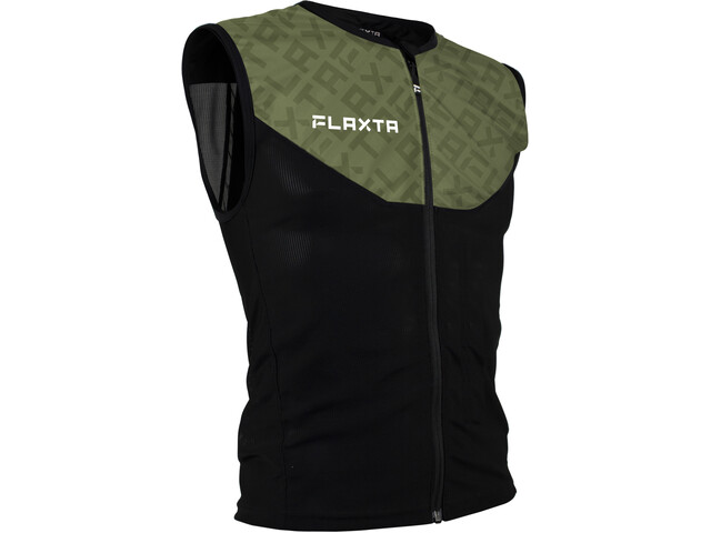 Flaxta Behold Gilet Protection du dos Homme, dust green pattern